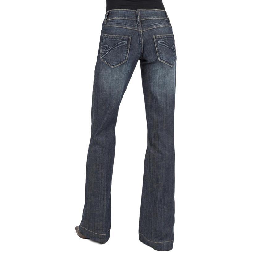 Stetson Womens Flare Leg Western Jeans
