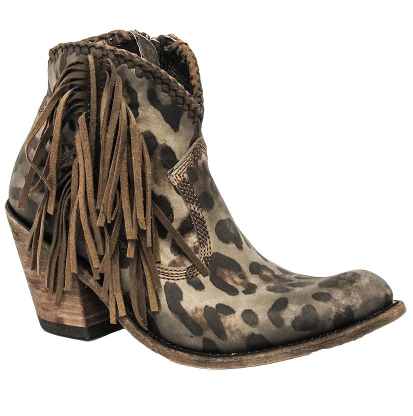 Liberty Black Shortie Brown Boot