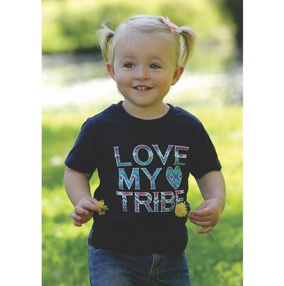 Cruel Girl Love My Tribe Toddler Printed Tee