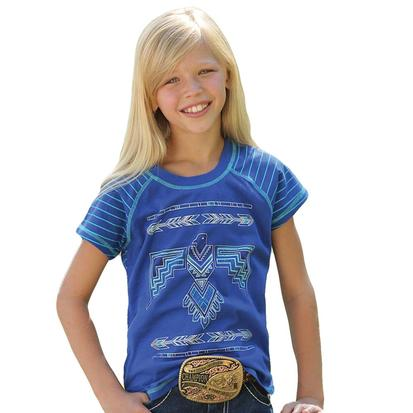 Cruel Girl Royal Blue Thunderbird Tee