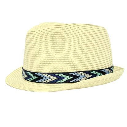 Cruel Girl Straw Fedora Hat