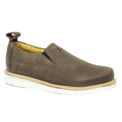 Cinch Mens Leather Slip On Shoe