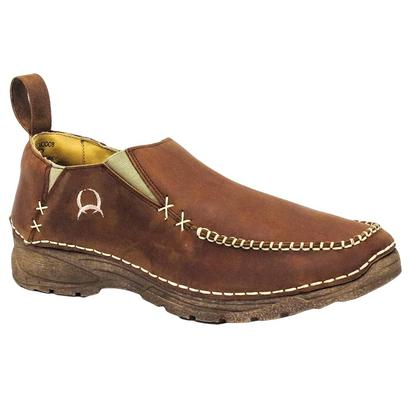 Cinch Men's Leather Casual Slip On Shoe