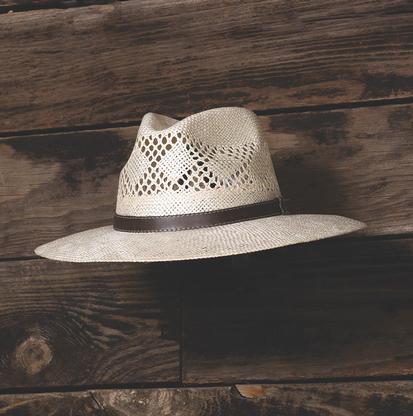 Stetson Carolina Raffia Straw Cowboy Hat