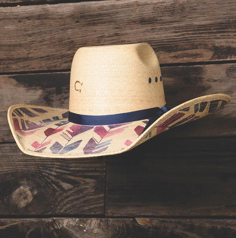 Straight Arrow Palm Cowboy Hat Charlie 1 Horse