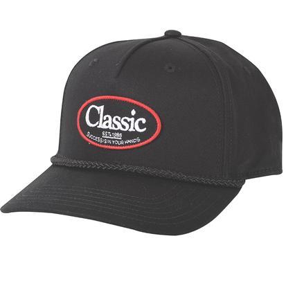 Classic Men's Black Vintage Cap