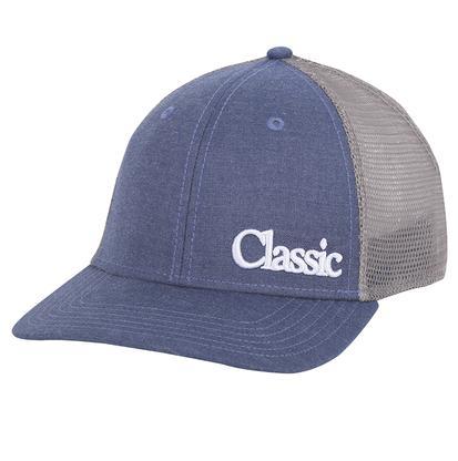 Classic Blue & Grey Mesh Cap