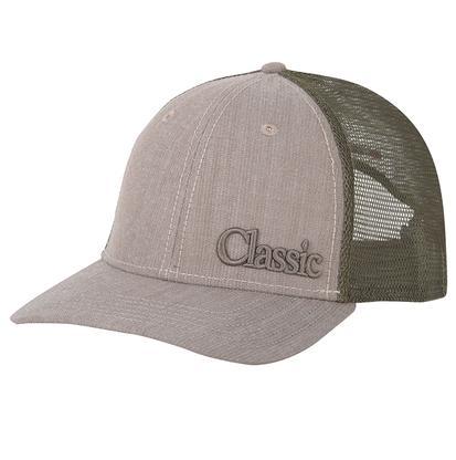 Classic Men's Olive & Black Mesh Back Cap