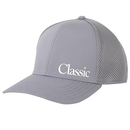 Classic Grey Mesh Fitted Cap