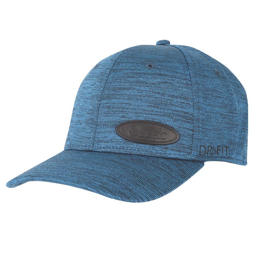 Classic Men's Turquoise Fitted Cap
