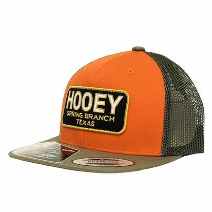 HOOey Men's Orange Hometown Trucker Cap