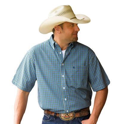 Cinch Men's Plaid Short Sleeve Shirt
