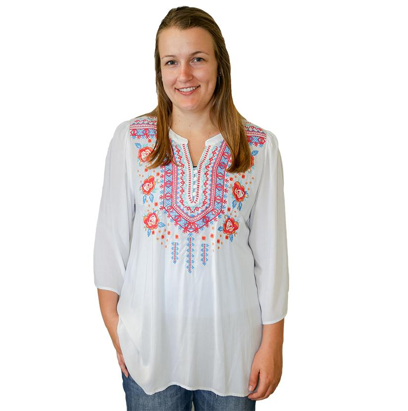 Navy Blue Womens Baily Blouse