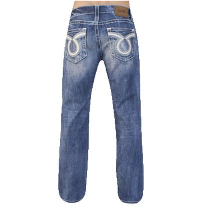Big Star Mens Union Regular Straight Leg Jeans