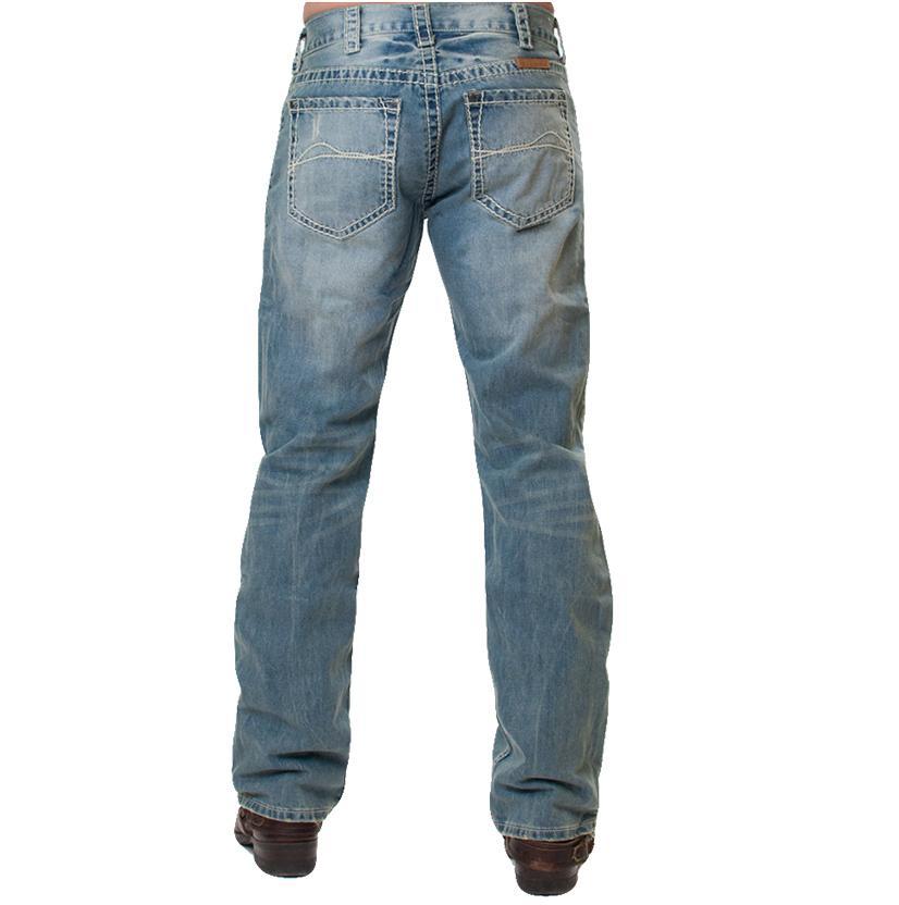 B Tuff Mens Tailgate Lightwash Jeans