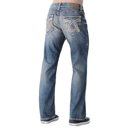 Big Star Mens Pioneer Bootcut 15 Year Light Wash Jeans