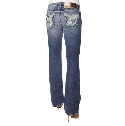 Big Star Womens Low Rise Medium Wash Jeans