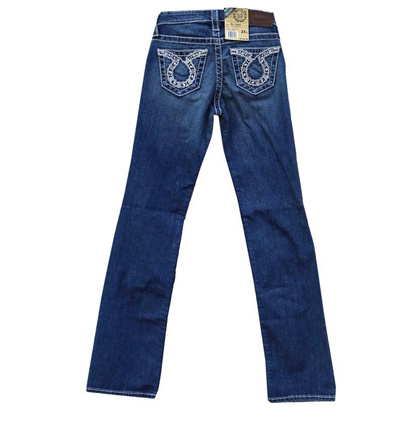Big Star Womens Mid Rise Boot Cut New Hazel Jeans