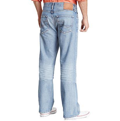 Big Star Mens Pioneer 25 Year Fury Bootcut Jeans