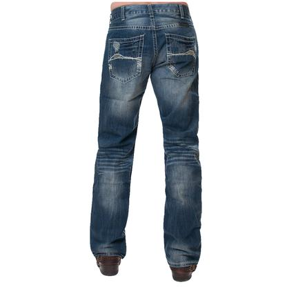 B Tuff Mens Horsepower Dark Wash Jeans