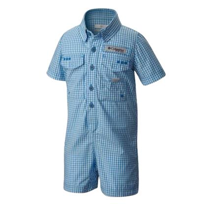 Columbia Blue Infant Romper