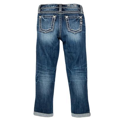 Miss Me Girl's Revolt Boyfriend Ankle Jeans