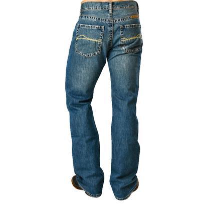 B Tuff Mens Basic Dark Wash Jeans