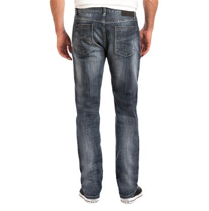 Slate Mens Slim Straight Fit Medium Wash Jeans