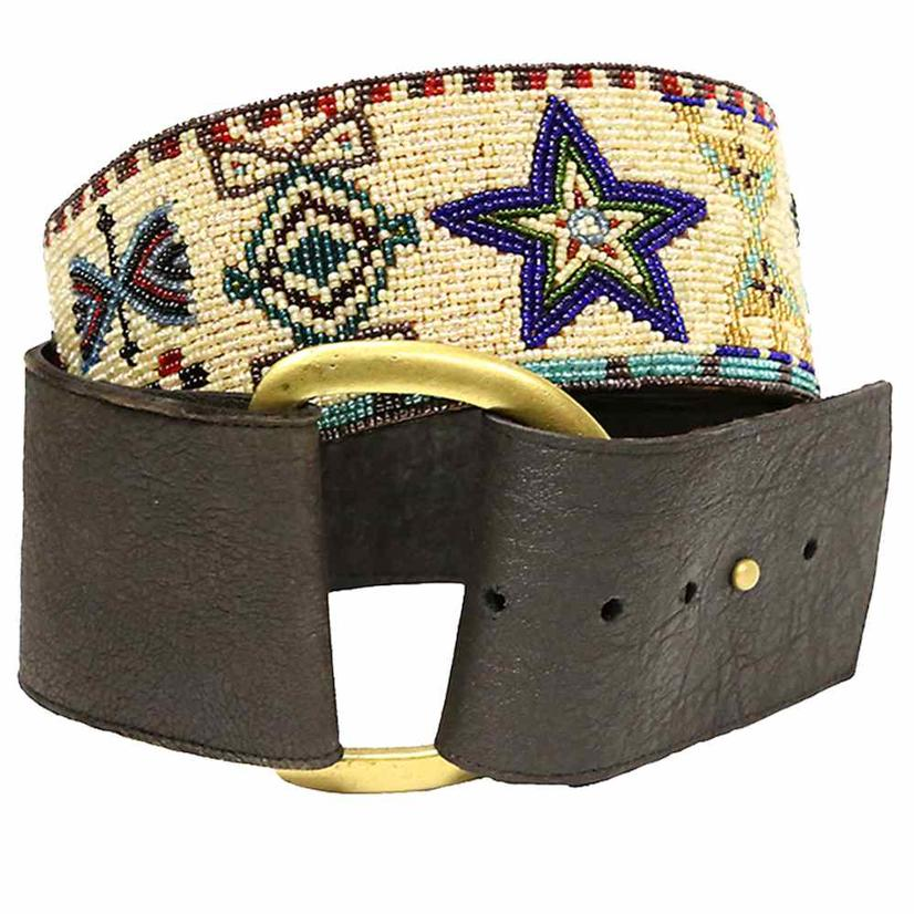Double D Ranch Womens Cayuse Beaded Belt