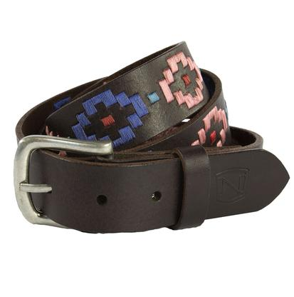 Noble Outfitters Women Palermo Aztec Stitching Belt