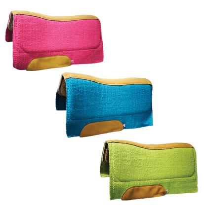 San Juan Contour Barrel Racing Saddle Pad 34x30