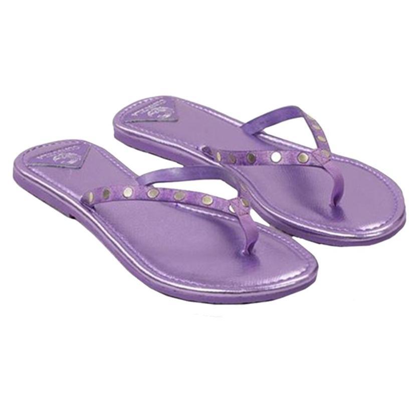 Consuela Womens Flip Flops LILAC