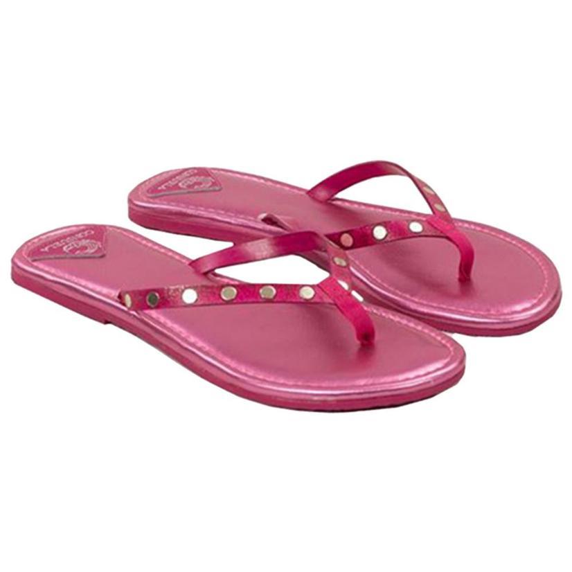 Consuela Womens Flip Flops PEONY
