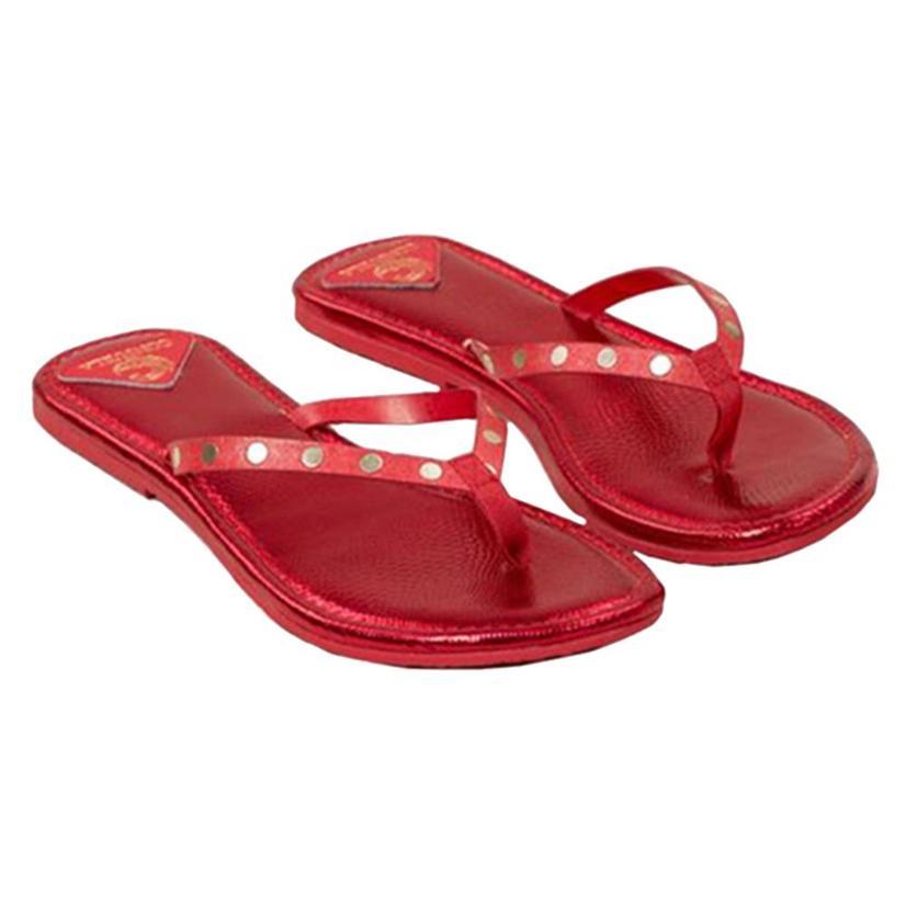 Consuela Womens Flip Flops RUBY
