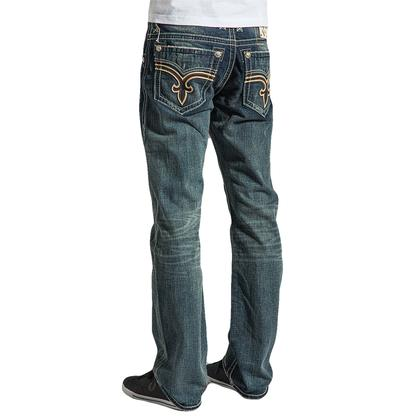 Rock Revival Mens Straight Kipp Jeans