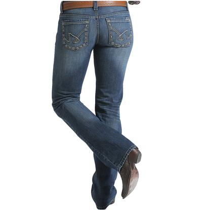 Cruel Girl Womens Blake Low Rise Denim Jeans