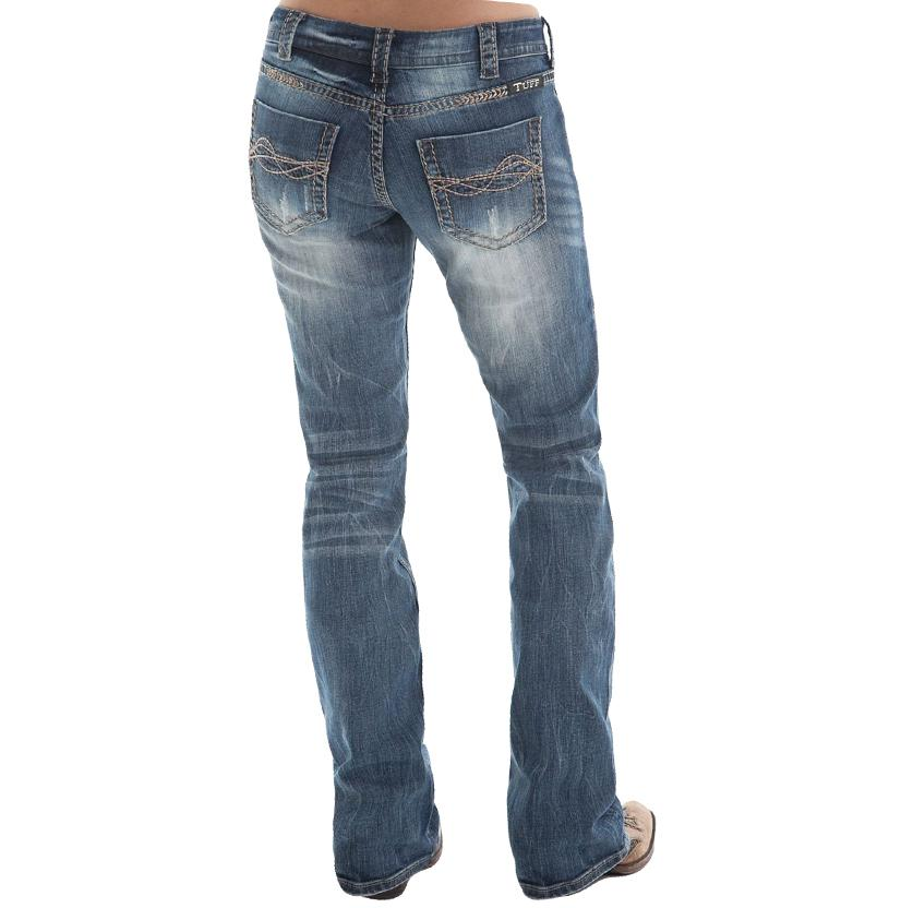 Cowgirl Tuff  Womens Twisted Metal Jeans