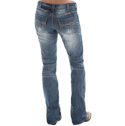 Cowgirl Tuff Twisted Metal Jeans