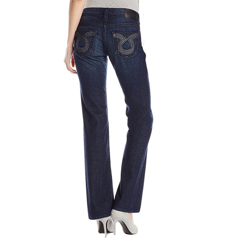 Big Star Womens Remy Low Rise Boot Cut Jeans