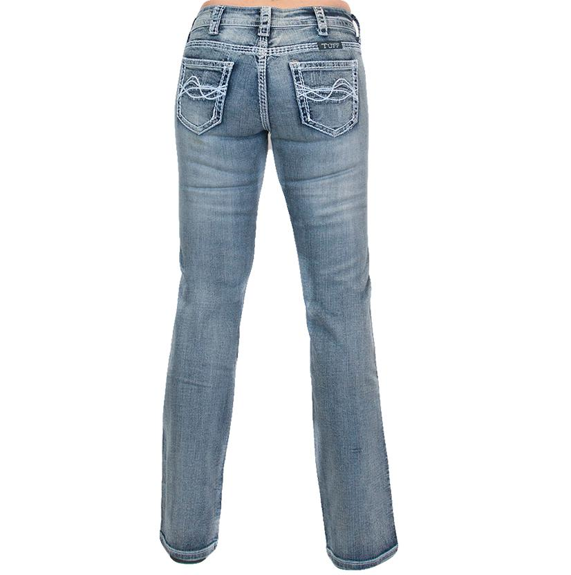 Cowgirl Tuff Womens Don ' T Fence Me In Jeans