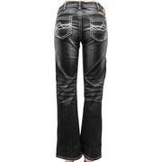 Cowgirl Tuff Western Denim Pearl Regular Dark Jeans