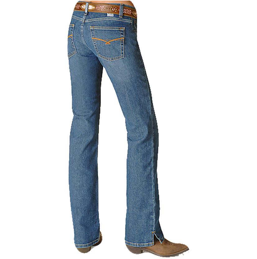 Cruel Girl Womens Georgia Stretch Slim Fit Boot Cut Jeans