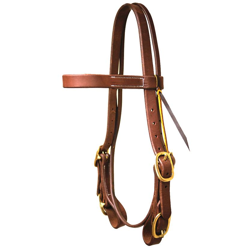 STT 1 inch 4 Buckle Browband