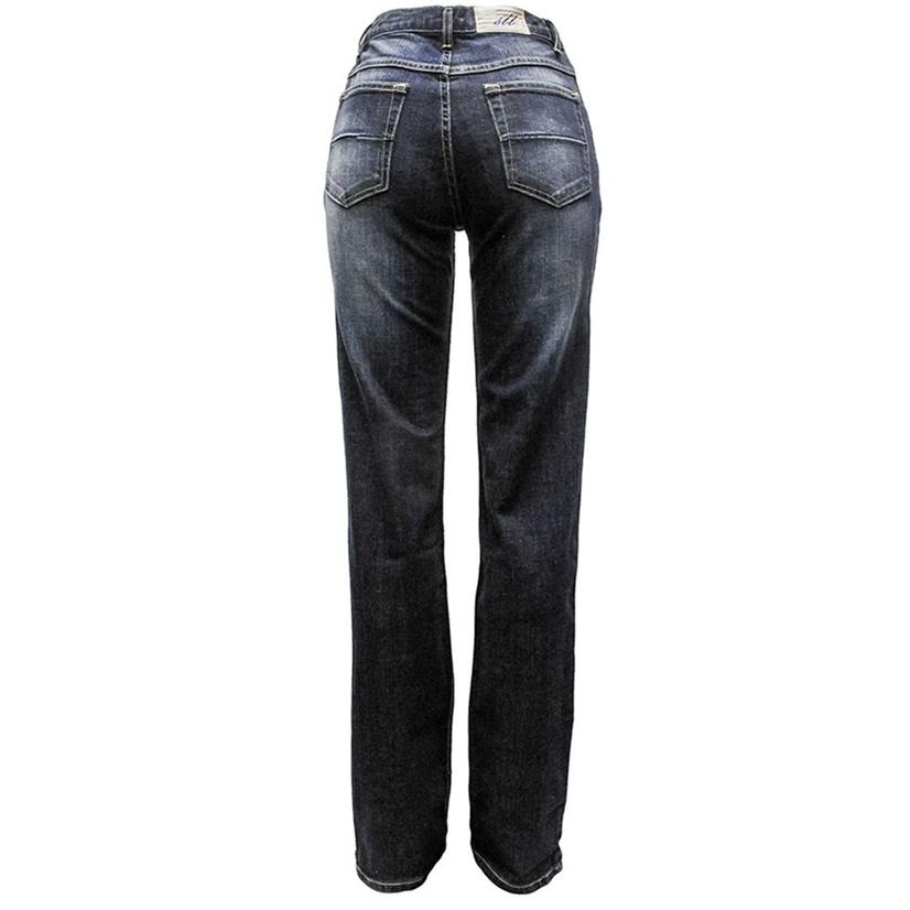 South Texas Tack Womens Mid Rise Comfort Fit Jeans