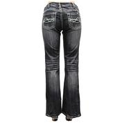 Cowgirl Tuff Spring Fever Bootcut Midrise Womens Jeans
