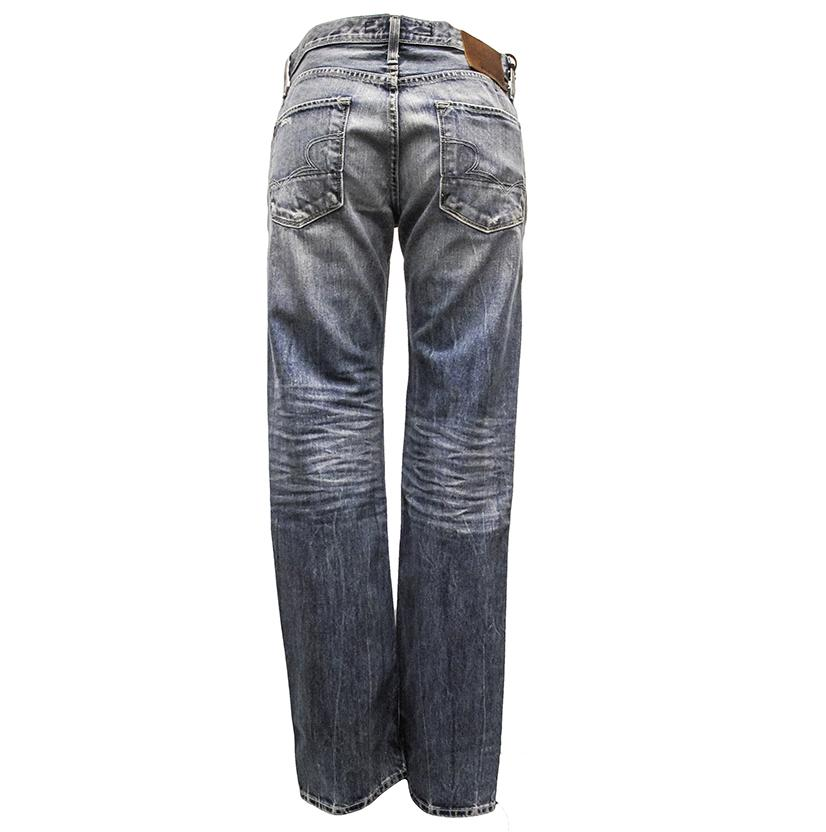 Big Star Mens Straight Leg Jeans - Country Wash