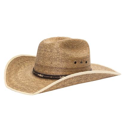 STT 2 Tone Ponderosa Brown Mix Straw Hat