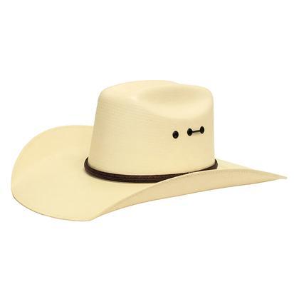 Maverick 7X Straw Cowboy Hat w/Eyelets