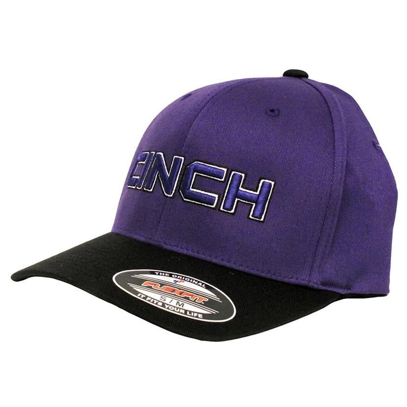 Cinch Mens Purple & Black Cap