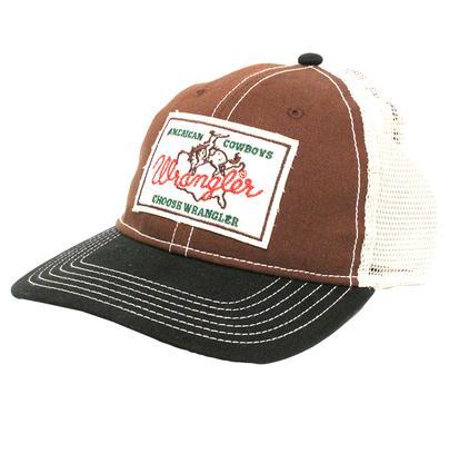 Wrangler Brown Patch Cap